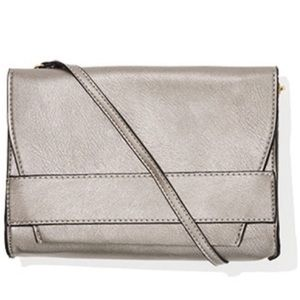 Celine Summer & Rose metallic Steel crossbody bag